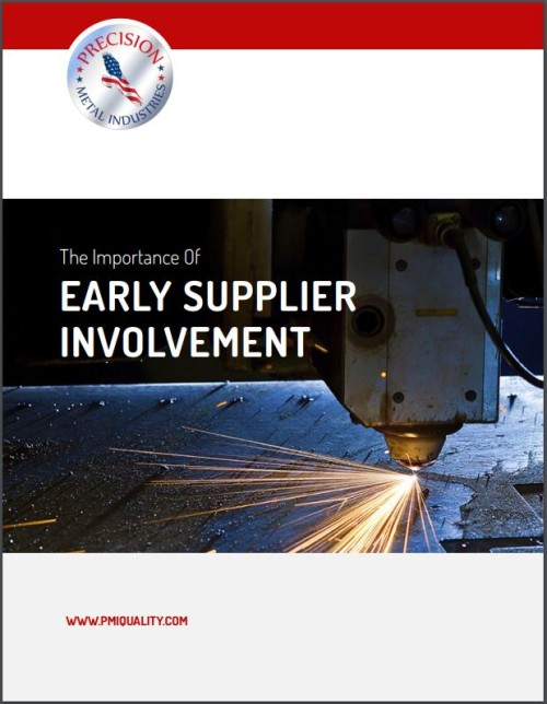 PMI SITE- IMPORTANCE OF EARLY SUPPLIER INVOLVEMENT